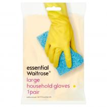 Essential Waitrose Large Household Gloves 1 pair