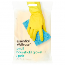 Essential Waitrose Small Household Gloves 1 pair