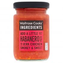 Waitrose Cooks' Ingredients Habanero Paste 100g