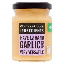 Waitrose Cooks' Ingredients Garlic Puree 100g
