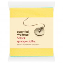 Essential Waitrose Thick Sponge Cloths 5