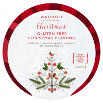 Waitrose Gluten Free Christmas Pudding 400g