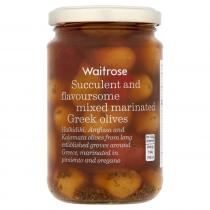 Waitrose mixed marinated olives 300g