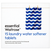 Essential Waitrose Laundry Water Softener Tabs 15