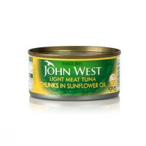 John West Light Meat Tuna Chunks in Sun Flower Oil (170 g)