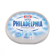 Philadelphia Spreadable Cream Cheese Light (200 g)