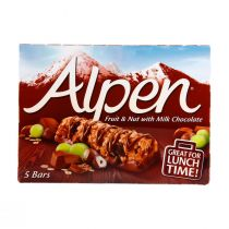 Alpen Fruit & Nut with Milk Chocolate (5 Pieces) 145g