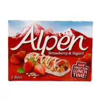 Alpen Strawberry with Yogurt (5 Pieces) 145g