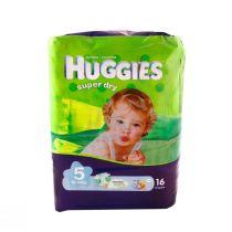 Huggies Diapers Super Dry 5 (16 diapers)