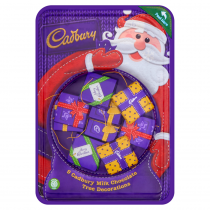 Cadbury Chocolate Parcel Tree Decorations 83g