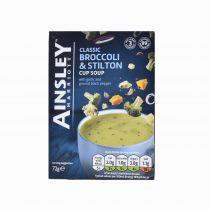 Ainsley Harriott Cup A Soup Broccoli & Stilton  3X24g