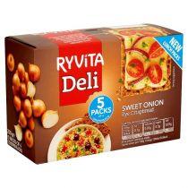 Ryvita Sweet Onion Crunchy Rye Breads 200g