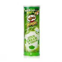 Pringles Chips Sour Cream & Onions (165 g)