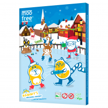 Moo Free Advent Calendar 100g