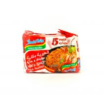 Indomie Noodles Hot And Spicy Fried Flavor 5X80g