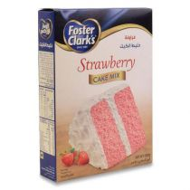 Foster Clarks Strawberry Cake Mix 500g