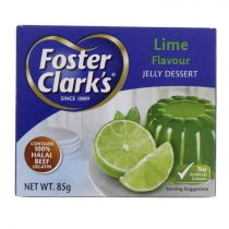 Foster Clark's Jelly Lime Flavor 85g