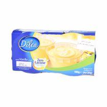 Dilea Zero Lactose Vanilla Pudding 4*125g