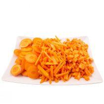 Chopped Carrots Tray