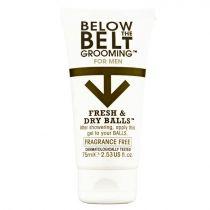Below the Belt Fresh and Dry Balls Fragrance Free 75ml