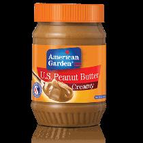 American Garden Creamy Peanut Butter  2X510g