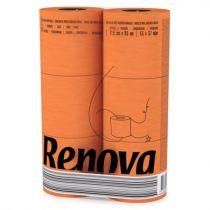 Revona Orange Toilet Paper 6 Rolls