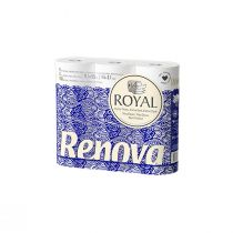 Renova Royal Toilet Paper (Pack of 9 Rolls)