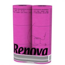 Revona Pink Toilet Paper 6 Rolls