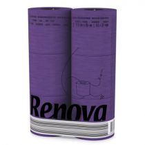 Revona Purple Toilet Paper 6 Rolls
