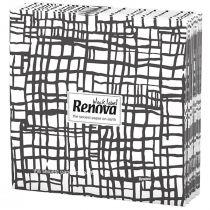 Renova Napkins- Black Stripes