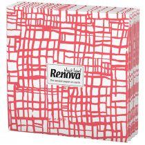 Renova Napkins- Red Stripes