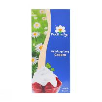 Puck Whipping Cream (1 ltr)