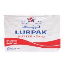 Lurpak Unsalted Butter 200g