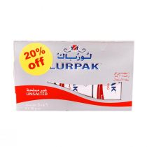 Lurpak Butter Unsalted (6 Pcs x 50 g)