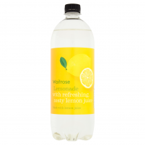 Waitrose Lemonade with lemon juice 1L