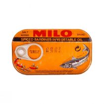 Milo Spiced Sardines in Vegetable Oil (125 g)