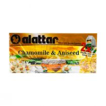 Al Attar Chamomile & Aniseed 20 Tea Bags X2