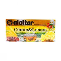 Al Attar Cumin with Lemon 20 Tea Bags X2