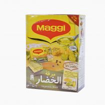 Maggi Vegetable Stock Bouillon Cubes 24 Pcs
