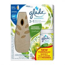 Glade Automatic Spray Air Freshener And Refill Set Brown 175g
