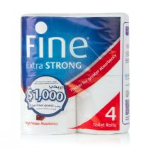 Fine Toilet Paper Extra Strong (4 rolls)