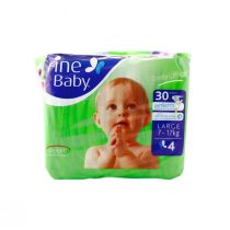 Fine Baby Diapers Large (Comfortably Soft)
