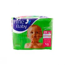 Fine Baby Diapers Maxi (Comfortably Soft)