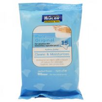 HiGeen Antibacterial Wipes 15 Sheets