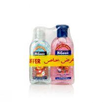 HiGeen Anti-Bacterial Hand Sanitizer Gel (110 ml plus 80 ml)