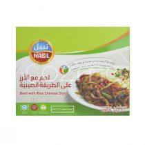 Nabil Chinese Style Beef & Rice 400g