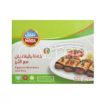Nabil Eggplant Beef Rolls With Rice 400g