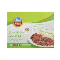 Nabil Vegetarian Eggplant Stew With Rice 400g