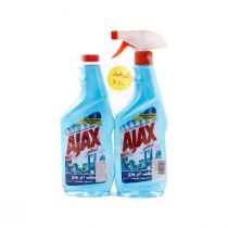 Ajax Glass Cleaner Blue Offer 500 ml