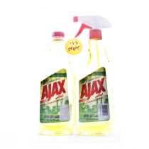 Ajax Glass Cleaner Lemon Offer 500 ml